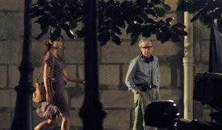 Carla Bruni dreht mit Woody Allen (Foto)
