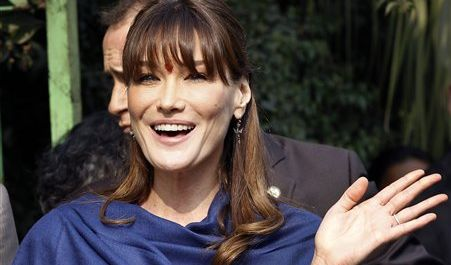 Carla Bruni-Sarkozy (Foto)