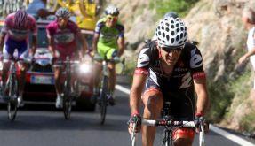 Carlos Sastre hängt auf der 19. Etappe die Konkurrenz ab. (Foto)