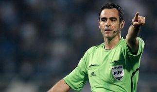 Carlos Velasco Carballo wird das Spiel Deutschland gegen Dänemark pfeifen. (Foto)