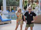 Carmen und Robert lassen es sich in Las Vegas gut gehen. (Foto)
