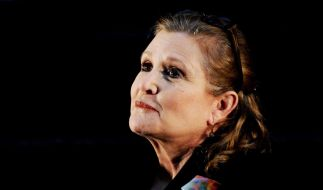 Carrie Fisher ist tot. (Foto)