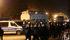Castor-Einsatz für Polizei härter denn je (Foto)