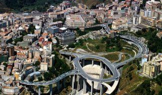 Catanzaro in Kalabrien: In die süditalienische Region sind fast 400 Millionen Euro für den Straßenbau geflossen - zu Unrecht. (Foto)