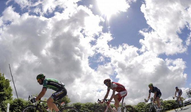 Cavendish gewinnt fünfte Etappe der Tour de France (Foto)