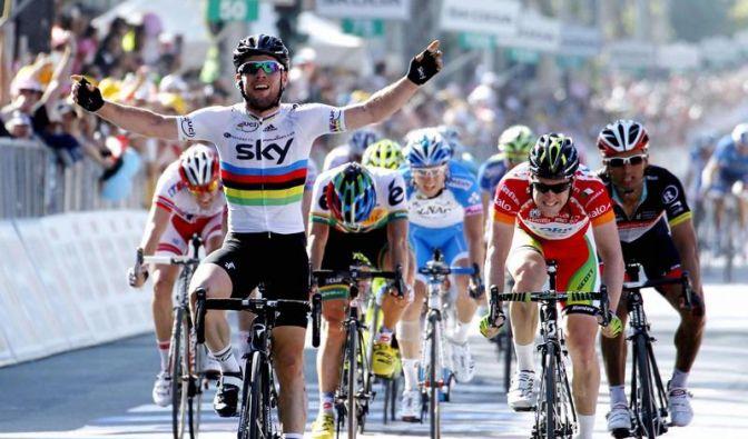 Cavendish holt sich zweiten Giro-Etappensieg (Foto)