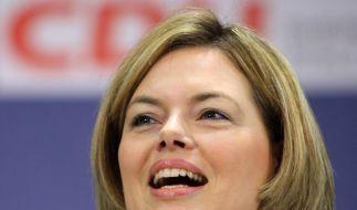 CDU-Frau und Twitterin: Julia Klöckner. (Foto)