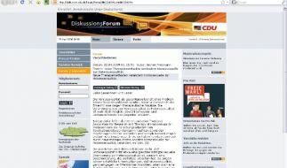 CDU und Homosexuelle (Foto)