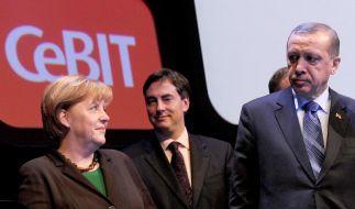 CeBIT startet in Hannover (Foto)
