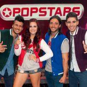 Cem (von links), Steffi, Alex und Alessio sind Melouria.