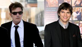 Charlie Sheen lästert über Ashton Kutcher (Foto)