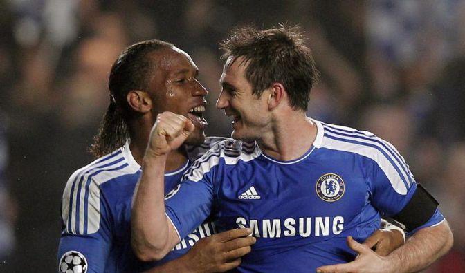 Chelseas «Blues Brothers» feiern Erfolg gegen Neapel (Foto)