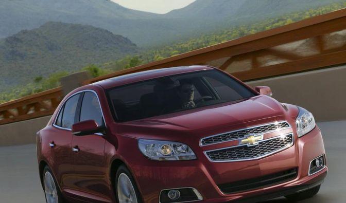 Chevrolet Malibu kommt 2012 nach Europa (Foto)