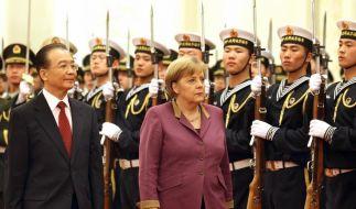 China und Deutschland wollen Zusammenarbeit ausbauen (Foto)