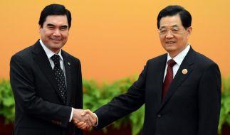 China und Russland weiten Einfluss in Zentralasien aus (Foto)