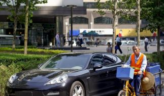 China verhilft Porsche zu neuen Rekorden (Foto)