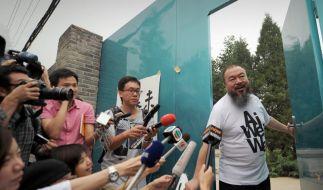 China: Vier Kollegen Ai Weiweis freigelassen (Foto)