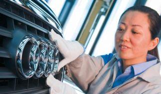 China vor Deutschland als größter Audi-Absatzmarkt (Foto)