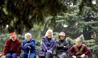Chinas Bevölkerung altert schnell (Foto)