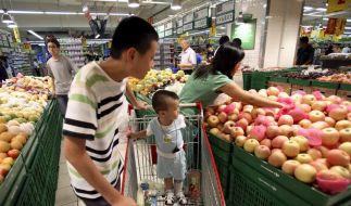Chinas Inflation steigt wieder stärker (Foto)