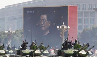 Chinas Militäretat steigt um 11,2 Prozent (Foto)