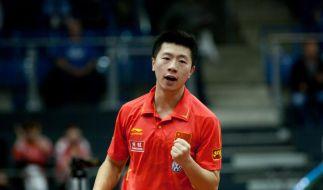 Chinas Tischtennis-Asse konkurrenzlos (Foto)