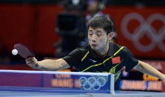Chinas Tischtennis-Herren erstes Team im Halbfinale (Foto)