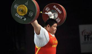 Chinesische Gewichtheberin gewinnt mit Weltrekord (Foto)