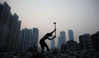 Chinesische Verhältnisse. (Foto)