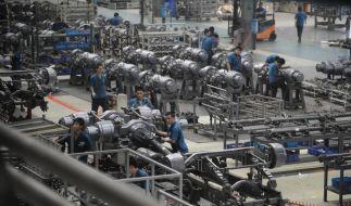 Chinesisches LKW-Werk (Foto)