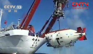 Chinesisches Tauchboot erreicht 5057 Meter (Foto)