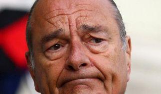 Chirac zu zwei Jahren auf Bewährung verurteilt (Foto)
