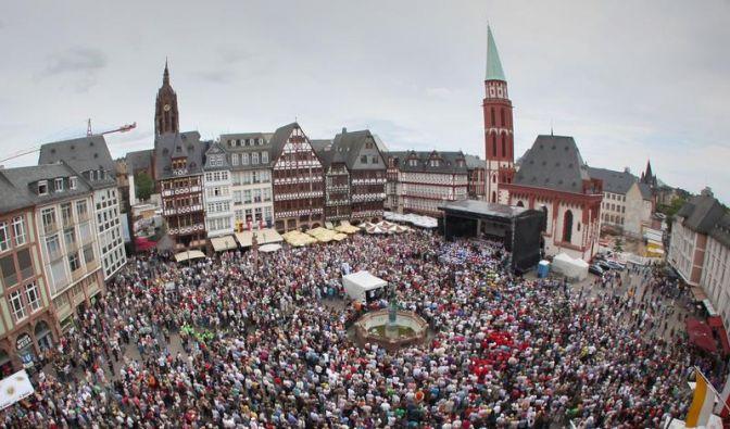 Chorfest in Frankfurt: Viel Gesang und schöne Töne (Foto)