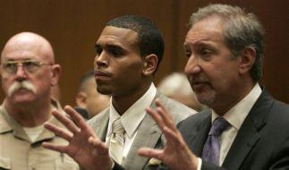 Chris Brown darf sich fünf Jahre lang nichts zu schulden kommen lassen. (Foto)