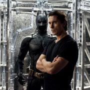 Christian Bale in The Dark Knight Rises: Im Batman-Kostüm hatte der Schauspieler Platzangst.