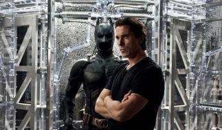 Christian Bale in The Dark Knight Rises: Im Batman-Kostüm hatte der Schauspieler Platzangst. (Foto)