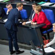 Christian Lindner stürzt Merkel in schwere Krise. (Foto)