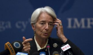 Christine Lagarde prognostiziert düstere Zeiten.  (Foto)