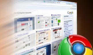Chrome-Browser muss aktualisiert werden (Foto)