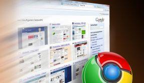 Chrome von Google (Foto)