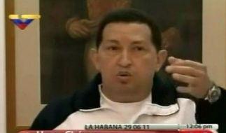 Chávez führt Regierung (Foto)