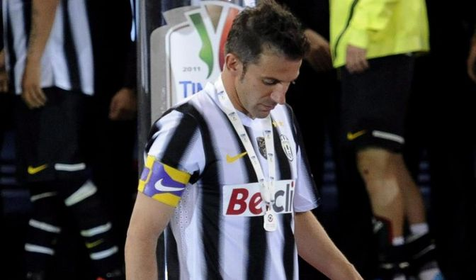 «Ciao Del Piero» - Trauriger Abschied des Juve-Stars (Foto)