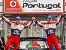 Citroën-Doppelerfolg in Portugal:Ogier vor Loeb (Foto)