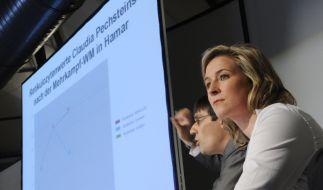 Claudia Pechstein bezieht öffentlich Stellung zu den Dopingvorwürfen. (Foto)