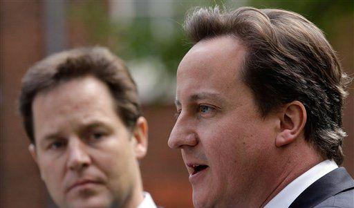 Clegg und Cameron (Foto)