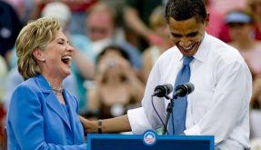 Clinton als US-Außenministerin im Gespräch (Foto)