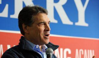CNN: Rick Perry beendet US-Präsidentschaftswahlkampf (Foto)