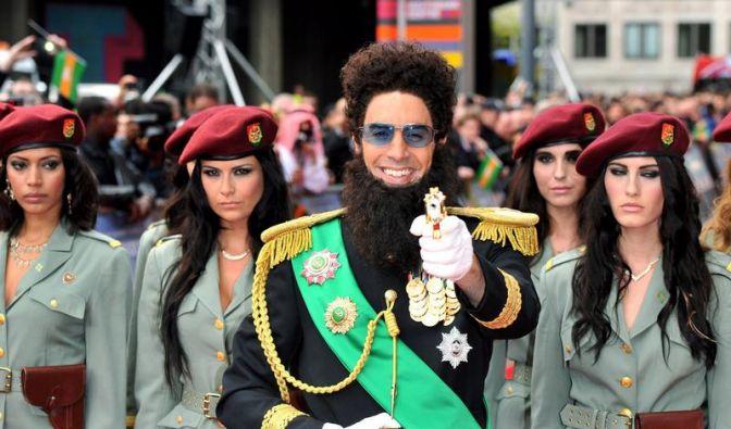 Cohen feiert Weltpremiere als «Diktator» (Foto)
