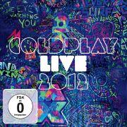 Coldplay Live 2012 zeigt neben Konzertmitschnitten auch das Geschehen hinter den Kulissen.