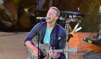 Coldplay-Sänger Chris Martin griff daneben (Foto)